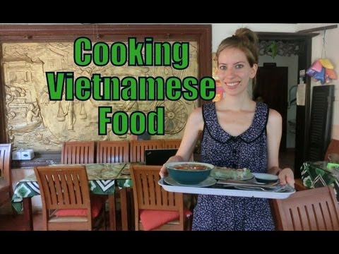 Vietnamese Cooking Class Lesson in Hoi An, Vietnam