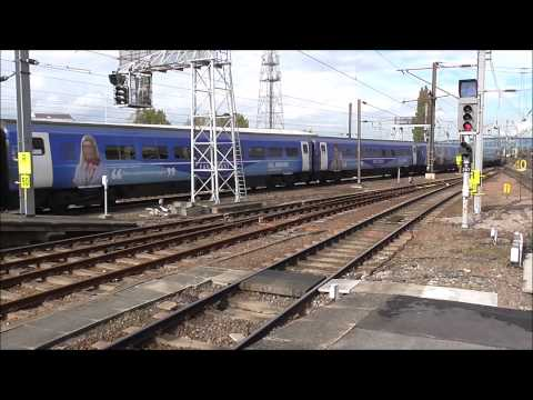Trains at Doncaster Station on the East Coast Main Line 1...
