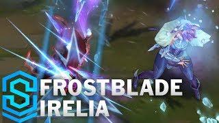 Frostblade Irelia (2018 Rework) Skin Spotlight - Pre-Release - League of Legends