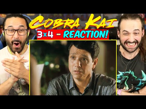 """COBRA KAI 3x4 - REACTION!! """"The Right Path"""" (Season 3, Episode 4)"""