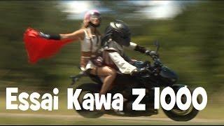 10. Essai Kawasaki Z 1000 la plus manga des kawa