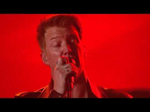 NIN, QOTSA, Dave Grohl amp Lindsey Buckingham - Copy of AMy God is the Sun Rehearsal Grammy 2014