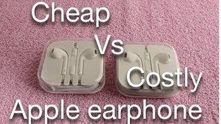 Video Cheap Vs Costly Apple earphones MP3, 3GP, MP4, WEBM, AVI, FLV Juli 2018