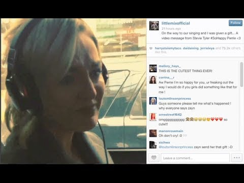 edwards - Zayn Malik Makes Perrie Edwards Cry With Video Message! Subscribe to Hollywire | http://bit.ly/Sub2HotMinute Send Chelsea a Tweet! | http://bit.ly/TweetChels...