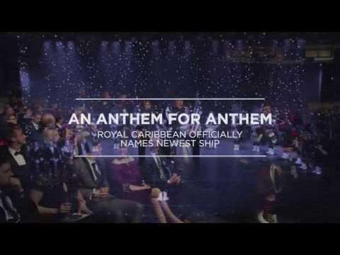 """Η σαμπάνια και το κρουαζιερόπλοιο """"Anthem of the Seas"""""""