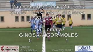 Preview video <strong>GINOSA-VIGOR MOLES 0-1 Il Ginosa cede lo scettro al Mola che trova il Jolly ed espugna il &quot;T.Miani&quot;.</strong>