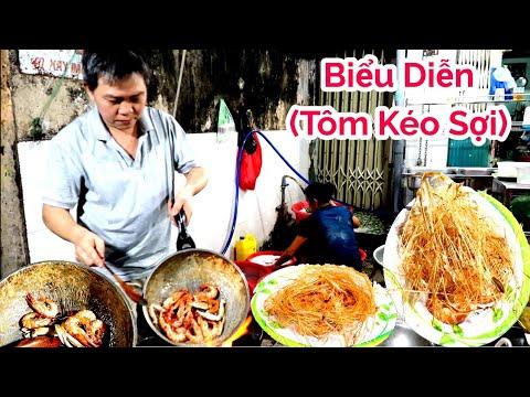 Ngỡ ngàng Tôm rang muối kéo sợi món ngon độc lạ phố người Hoa Quận 11 Sài Gòn | Saigon Travel - Thời lượng: 14:51.