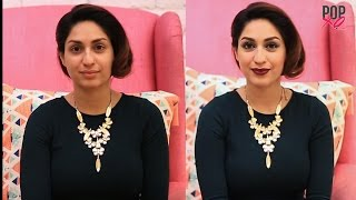 How To Do Makeup Using Products Under Rs 100 Challenge