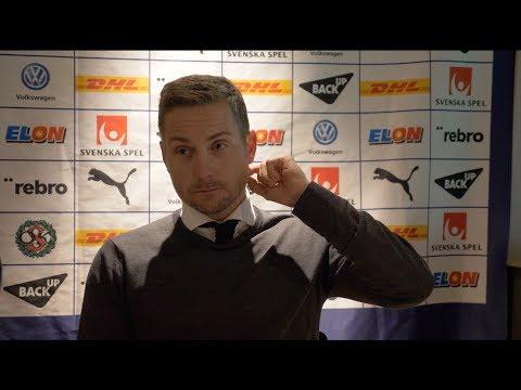 Presskonferens efter 1-1 hemma mot Djurgården