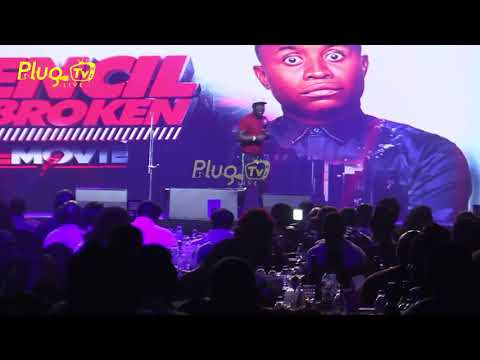 SEYI LAW AND AJEBO PERFORMANCE AT PENCIL UNBROKEN {THE MOVIE} | Plug Tv Live