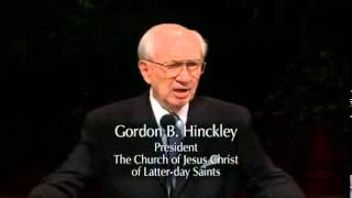 The Miracle of Faith   Gordon B  Hinckley   April 2001 General...