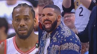 Kawhi Leonard Shocks Drake & Entire Crowd By Murdering Sixers In Game 1! Sixers vs Raptors Game 1