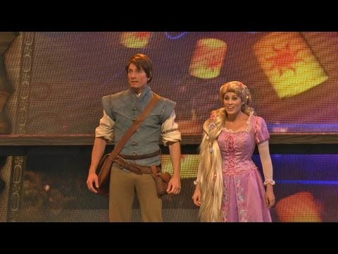 Mickey and the Magical Map dress rehearsal preview at Disneyland