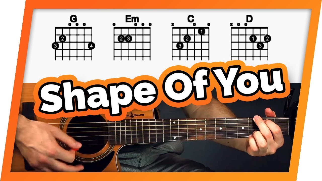 Shape of You Guitar Tutorial (Lesson) – Easy Chords For Beginners