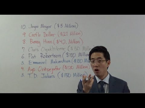 Top 10 Richest Pastors From SATAN. Who??? | Dr. Gene Kim