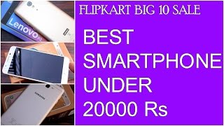In this video i am giving you a list of Best Smartphones to buy Under Rs 20000 in Flipkart Big 10 sale. There are many smartphone available on discount at this price point, but not all smartphones are worth buying. I have used many smartphones in this price range. Thus i may be able to tell you which one to buy in this flipkart big 10 sale.I have made this list in ascending order. I am starting with the smartphone that costs less. The first smartphone i mentioned is Lenovo Vibe k5 Note, the second one is lenovo p2 and the third one samsung galaxy on nxt. On Nxt is expensive one in list.All these smartphones are available at huge discounts namely Lenovo p2 and samsung galaxy on nxt. Lenovo p2 usually costs 17000 Rs, Now they are giving you huge discounts. A discount of Flat Rs 4000 is there on lenovo p2. The samsung galaxy on nxt usually costs Rs 18500, but now it is available at Rs 15000.I hope this video helps.Thanks for watching.