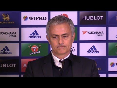 Chelsea 4-0 Manchester United - Jose Mourinho Full Post Match Press Conference (видео)
