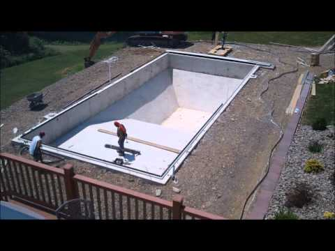 Awesome Inground Pool Time Lapse
