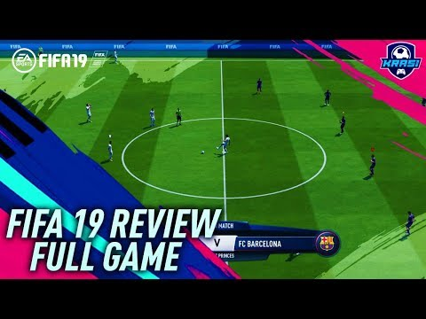 FIFA 19 GAMEPLAY REVIEW! ONLINE GAMEPLAY REVIEW - BARCELONA Vs PSG