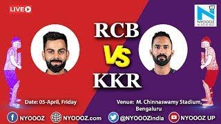Live IPL 2019 Match 17: KKR won by 5 wickets (5 balls remaining)