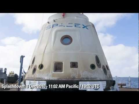First Flight of the Dragon Spacecraft - Highlights