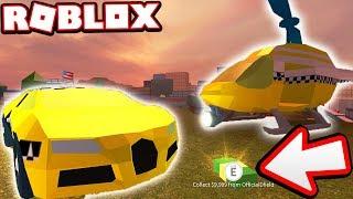 THE TAXI DRIVER BUGATTI TROLL!!! (Roblox Jailbreak)