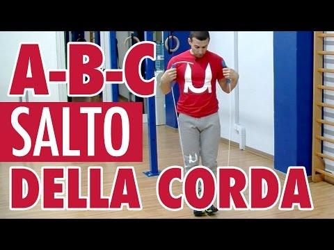 SALTO DELLA CORDA: TUTORIAL A-B-C PER IMPARARE