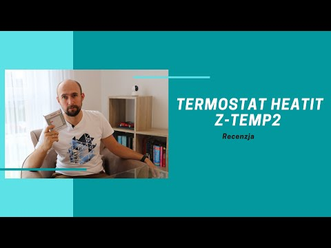 Termostat Heatit Z-Temp2 - Recenzja [ENG SUBS]