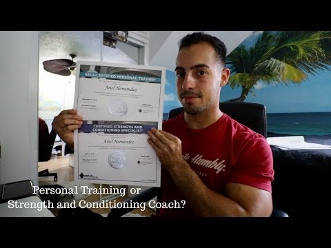 NSCA Strength and Conditioning | Personal Trainer | Certification