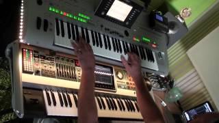 Video airwolf theme -  remixed on Fantom and Tyros 3 MP3, 3GP, MP4, WEBM, AVI, FLV Oktober 2017