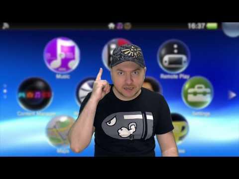 Моя консоль PS Vita