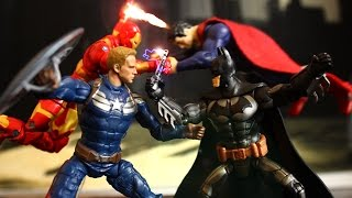 Video Batman V Superman vs Captain America Iron Man Spiderman Stop Motion Action Video Part 1 w toys download in MP3, 3GP, MP4, WEBM, AVI, FLV January 2017