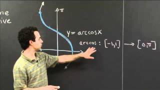 Arccos | MIT 18.01SC Single Variable Calculus, Fall 2010