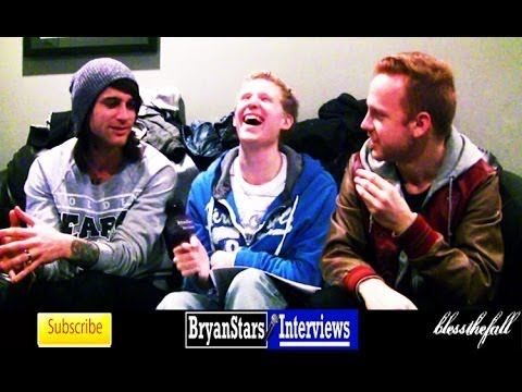 bryanstars - Check out my backstage interview with Blessthefall members Beau Bokan and Eric Lambert For more information on Blessthefall, check them out on Facebook! http...