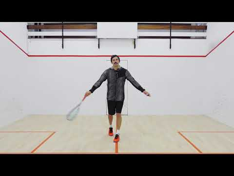Squash tips: 2 wall working boast tactics with Jethro Binns