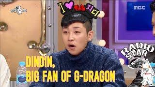 Video [RADIO STAR] 라디오스타 - G.D the Big Bang's goods received fans DinDina big fan! 20170111 MP3, 3GP, MP4, WEBM, AVI, FLV Maret 2018