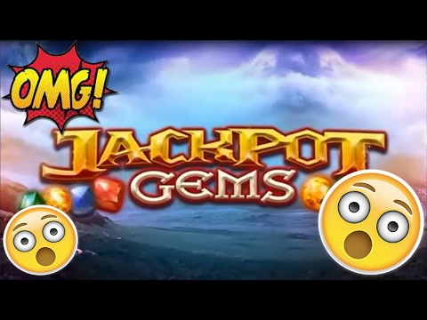Jackpot Gems £500 Slot Machine ORIGINAL EPIC SPINS