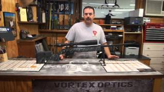 This video is about 6.5 creedmoor macmillan A-4 stock steiner optics jewell triggers custom hunting rifle
