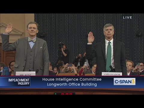 LIVE: House Impeachment Inquiry Hearing