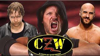 Estos 7 superstars de WWE estuvieron luchando alguna vez en la empresa más extrema CZW!!! Únete Al Facebook Oficial: https://www.facebook.com/austinriverayou...