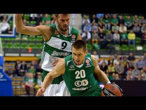 Highlights: RS Round 4, Stelmet Zielona Gora 71-68 Panathinaikos Athens