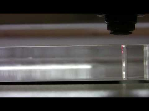 Laser Cutting System SP1500 Video Image