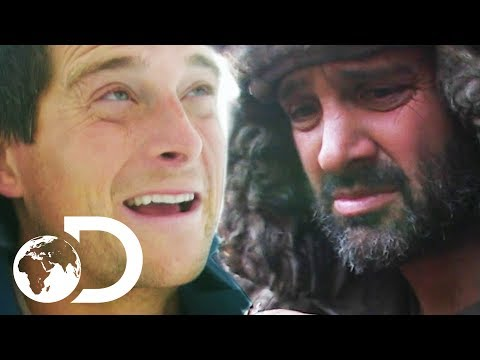 Bear Grylls VS Ed Stafford   Surviving The Cold