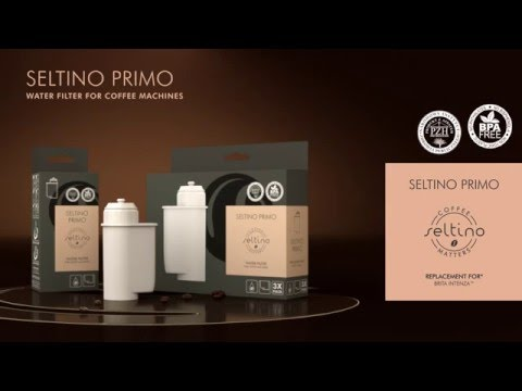 Seltino PRIMO replacement for BRITA™ INTENZA™ water filter for coffee machines