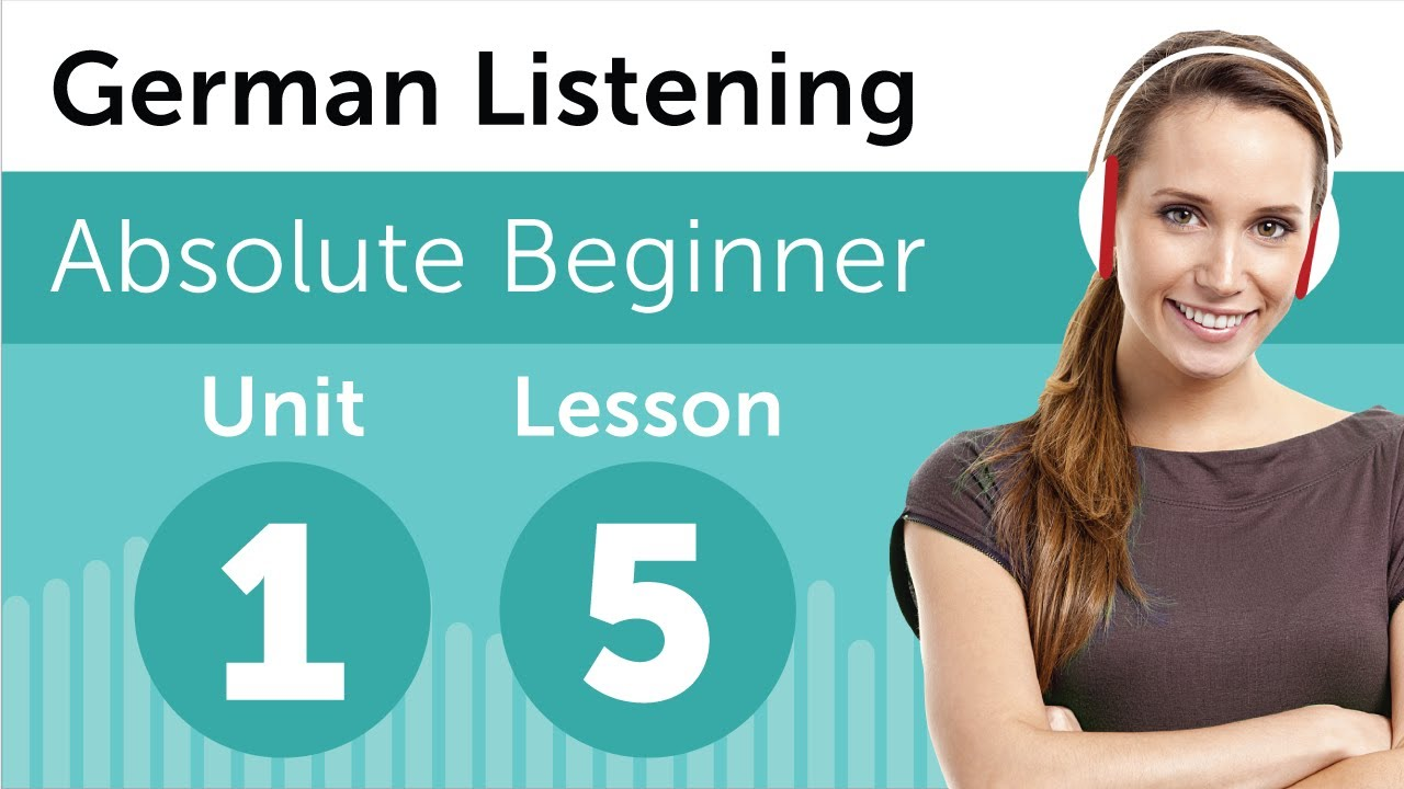 German Listening Practice – Looking at a Photograph from Germany