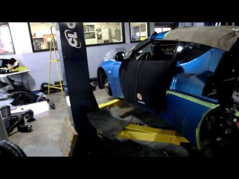 Lotus Evora S stripped down clutch replacement 1080p