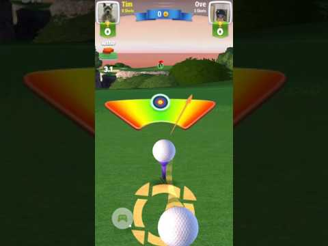 Golf Clash - Best drive ever