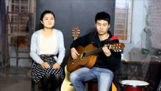 Thị Trấn - Dương Trung ft Thúy Cat (lớp guitar Việt johan)