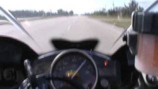 10. Yamaha R6 2010 stock Top Speed