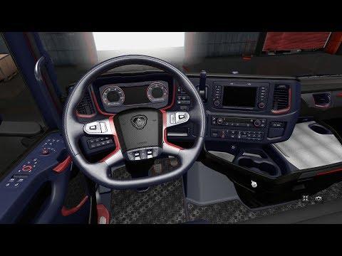 Interior for Scania 2016 2 1.30